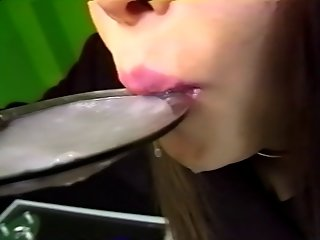 Japanese Cum Swallowing