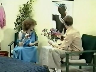 Vintage pregnant with great tits