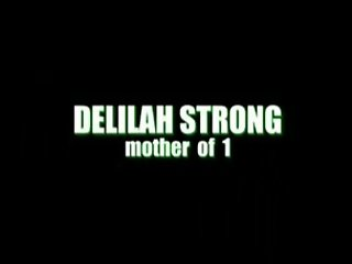 Delilah Strong loves old man sperm