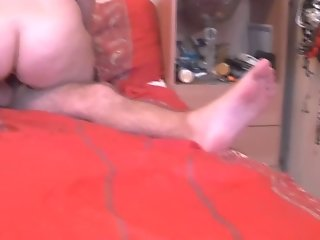 Big Ass Russian Swinger Wife Ride on Cock