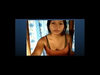 Filipina shows her tits on Skype.