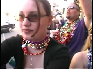 $5000 dollars worth of titties at mardi gras