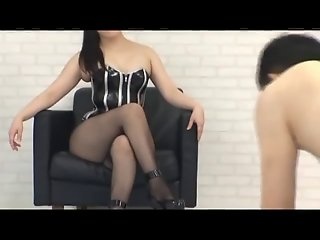 Asian mixed wrestling femdom