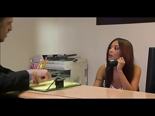 Mischa Brooks in the office