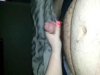 Hand job from wife
