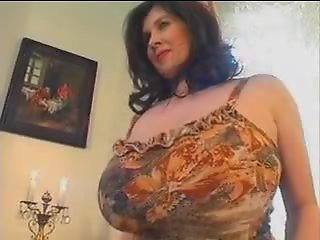 Bbw chubby and huge saggy tits12