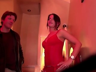 Real dutch prostitute giving brain to a tourist