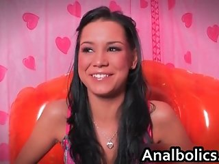 Five lesbian teens getting ready for