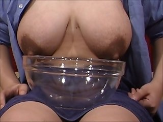 Asian boobs lactating