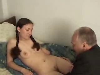 Russian Teen Fucked by Old Man by snahbrandy