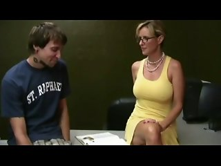 Hot Milf Helping Student by TROC