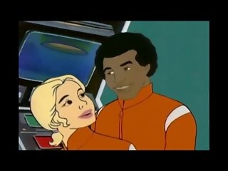 Black on Blonde Cartoon Interracial