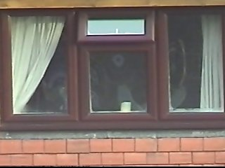 Caught on cam Nice tits across the road