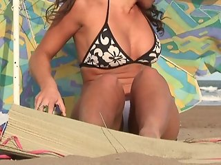 Hot Girl on Beach