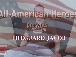 Lifeguard Jacob stokes it