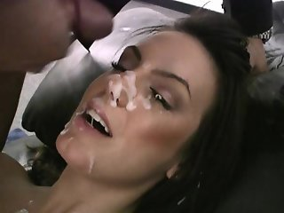 Money and thoughts about doing porn. Nice facial cumshot