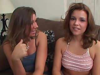 Two girls sucking and sharing facial cumshot