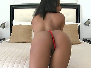 Black cutie with perfect ass to lick