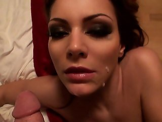 Beautiful face, perfect natural sized tits