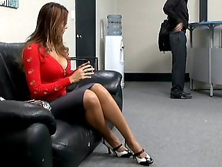 My Boss' flirty Wife
