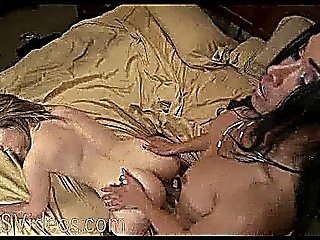 Busty Tanned Tranny Fucks Blonde Hottie