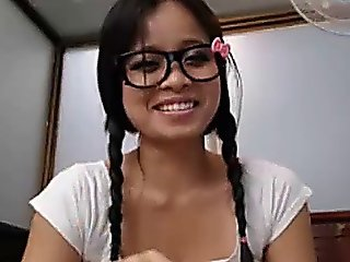 Asian In School Girl Dress On Cam