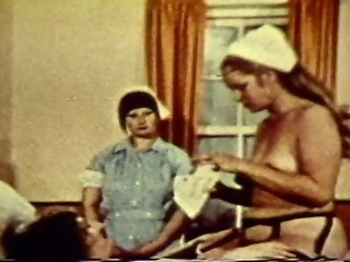 Naughty Nurse Banging With Her Patient In Vintage Porn Scene
