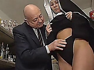 Nun And A Dirty Old Man