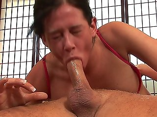 Sexy Slut Tory Lane Gagging On A Hard Cock