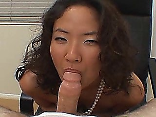 Glamour Asian Girl Sucks And Fucked