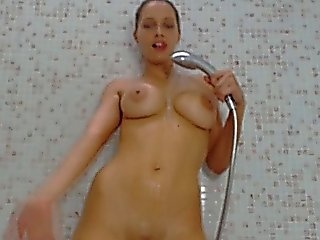 Hot Busty Babe Shower Room Show Hd