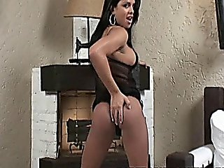 Latino Shemale Gets Drilled Hot Fucked From Behind