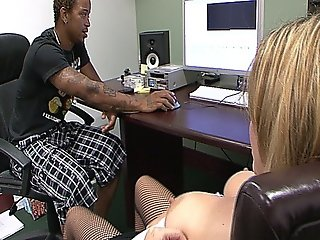 Hot Bosses Daughter Gets Fucked By A Big Black Cock And Loves It