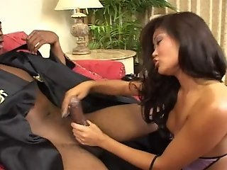 Asian Slut Gets A Hardcore Interracial Anal Fuck
