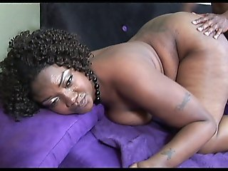 Sexy Bbw Black Momma Enjoys Sucking And Riding Black Cock