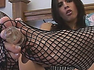 Hot Busty Latina Fetish Solo