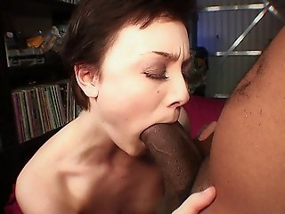 Tall Beauty Zoe Angel Gets Her Pussy Fucked Hard By A Big Black Cock