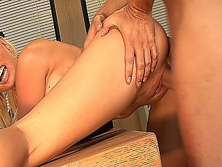 Hot Blonde Mature Librarian Sucks Cock And Gets Fucked On The Office Desk!