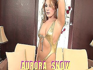 Aurora Snow Gets Her Asshole Stretched Out On Video