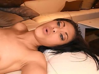 Sexy Chick Angel Marie Gets Her Sweet Hairy Pussy Reamed From Behind