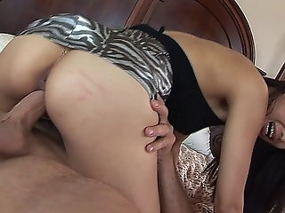 Asian Whore Gets Her Tight Pussy Fingered, Licked And Fucked