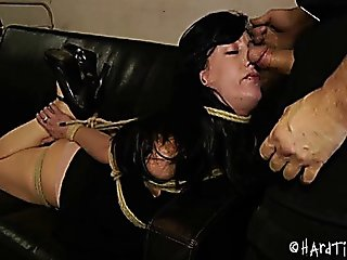 Sexy Else Graves Hard Bondage Cock An Dildo Fucking 1-2