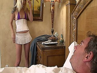 Hot Blonde Stepdaughter With Tattoos Fucked By Her Stepdad