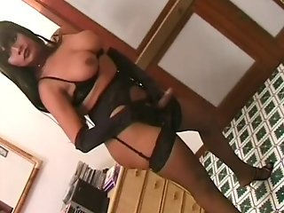 Sexy Tranny With A Big Juicy Ass Getting Hard Anal Sex