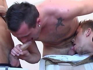 Gay Trio With Sexy Cock Sucking, Butt Fucking Czech Guys