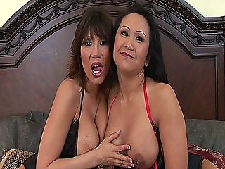 Hot Milf Threesome With Busty Cougars Kitty Langdon And Ava Devine