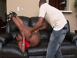Black Hooker Loves Sucking Dick And Getting Fucked Hard By Her Man