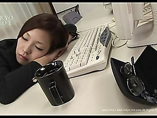 Sleeping Asian Girl