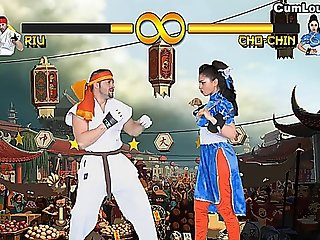 Sex And Violence In A Xxx Parody Of Street Fighter