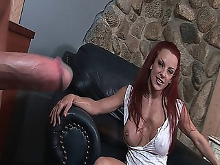 Redhead Slut Shannon Kelly Gets A Rough Mouth Fuck